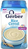 Best Baby Rice - Gerber Cereal Rice, 8 oz Review