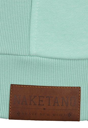 Naketano Male Zipped Jacket Birol IX Ice Green Melange