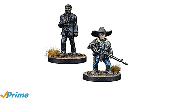 The Walking Dead Rosita and Eugene Booster Englisch All Out War Mantic Games
