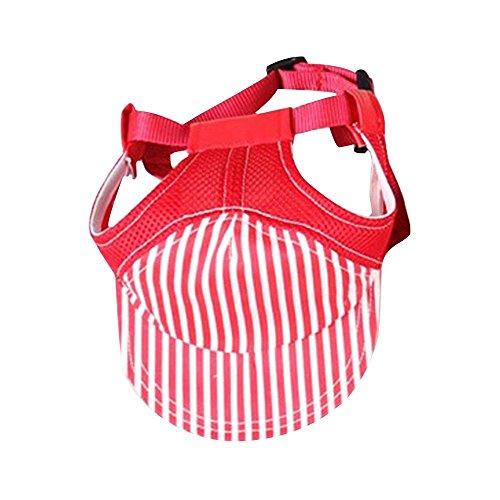 Modische Baseballmütze für Haustiere, Hunde-Mütze, Sonnenhut für kleine bis mittelgroße Hunde