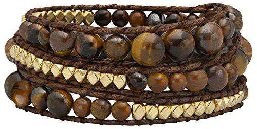 Wickelarmband-Mit-Runden-Steinen-Und-Metall-Nieten-Geflochtenes-Armband-Wrap-Als-Modeschmuck-60-cm-lang-3-fach-Wickel