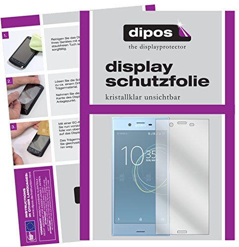 dipos I 6X Schutzfolie klar passend für Sony Xperia XZs Folie Bildschirmschutzfolie