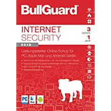 S.A.D BullGuard Internet Security 2018 - 3 Geräte/1 Jahr - Windows, MacOS, Android
