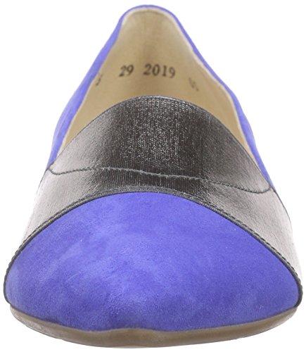 Peter Kaiser CINJA, Chaussures à talons - Avant du pieds couvert femme Bleu (RIVIERA SUEDE STAHL GUMMIZUG 694)