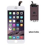 SUNTON LCD Display Touchscreen Bildschirm fur Apple iPhone 6 weiß Front Glas Digitizer Glas Scheibe Komplettset Glas + Werkzeug