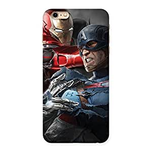 Enticing Genius vs Civil Punch Multicolor Back Case Cover for iPhone 6 Plus 6S Plus