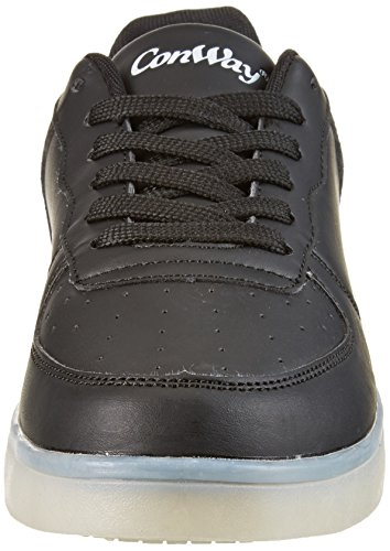 Conway 207461, Sneakers Basses Mixte Adulte Noir (Schwarz)