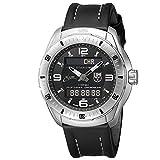 Luminox XCOR Aerospace Pilot Professional Analog Digital Mens Quartz watch with Black dial featuring LLT Luminox light Technology 46 millimeters Titanium case and Black Leather Strap XX.5241.XS