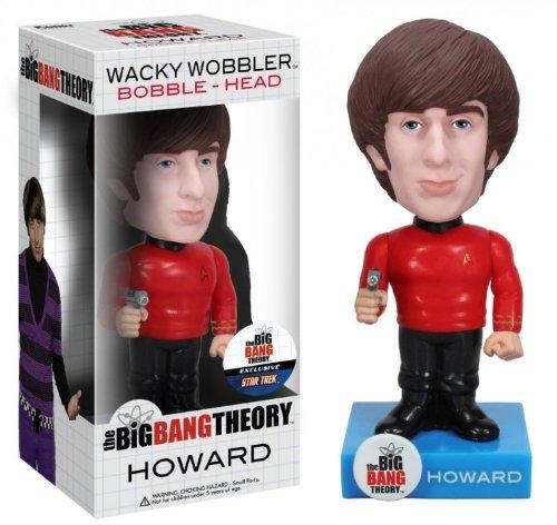 Big Bang Theory Bobble Head: Howard (Star Trek Exclusive), Figurines