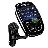 ERAYAK Trasmettitore FM Bluetooth per Auto FM Trasmettitore da Auto Adattatore Radio Vivavoce Car Kit per Bluetooth Lettore MP3 per Auto Accendisigari Dual USB Ports 5 V 2.1A&1A Supporto Display LCD, TF Card/USB Disk, iPhone, Huawei, iPad, Tablet, ecc