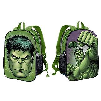 Karactermania Hulk Rage-Dual Rucksack (Klein) Mochila Infantil 32 Centimeters 9.25 Verde (Green)