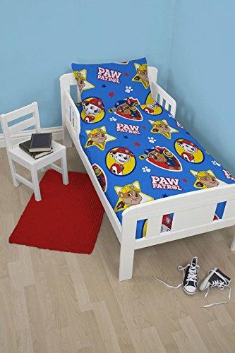 Kinder, die 4in 1Bundle für Kinderbett Single-Kid Bettwäsche Set Quilt Kissen Boy Girl, Paw Patrol
