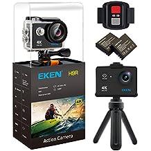 EKEN H9R Wifi 4k Action Camera Sport Impermeabile con 2