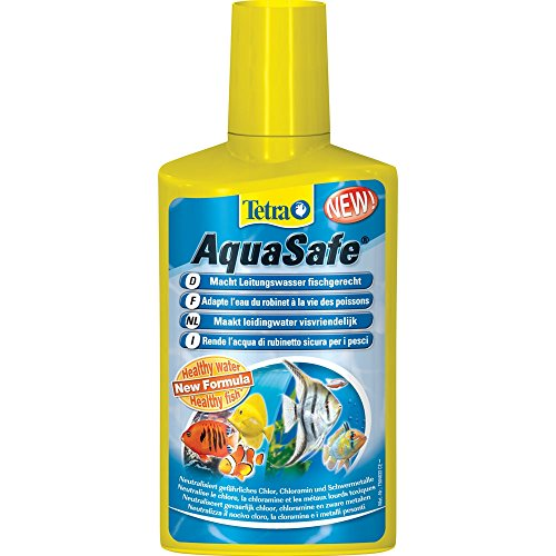 Tetra AquaSafe 250ml Creates Safe, Nature-like Water For Fish And (Neutralizza Metalli Pesanti)