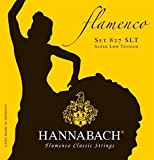 Hannabach Cordes de guitare classique Série 827 Super Low Tension Flamenco Classic Jeu de 3 Aig?es