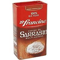 Francine sarrasin 1 kg boite - Livraison Gratuite En France - Prix Par Unité