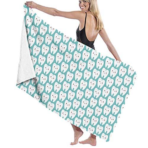xcvgcxcvasda Serviette de bain, Beach Towel for Kids, Soft Blanket Throw, 32