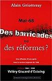Mai 68 : Des barricades ou des réformes
