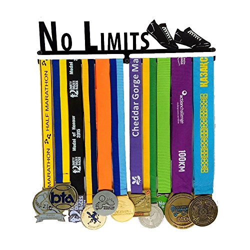 J&X Medaillenhalter | Medaille Anzeigen Metallklammer | Medal Rack Weiter Laufen | Läufer Medaillenhalter | Medaillenständer | Trophäenhalter ...