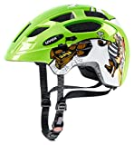 Uvex Kinder Finale Junior Mountainbikehelm, Mehrfarbig (Green Pirate), 47-52 cm