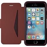 OtterBox Strada sturzsichere Folio Leder Schutzhülle für Apple iPhone 6 / 6s, burgund-Braun