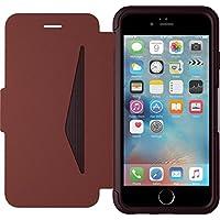 Otterbox Strada Etui en cuir véritable antichoc fin / élégant pour Iphone 6 / 6S Bordeaux