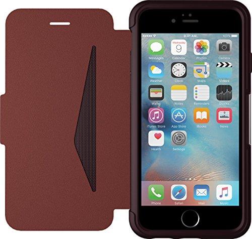 OtterBox Strada sturzsichere Folio Leder Schutzhülle für Apple iPhone 6/6s, bordeaux