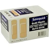 Salvequick Pflasterspender und refill - verschiedene Sorten (Karton á 6 refills, dunkelblau (wasserfest) - Ref... preisvergleich bei billige-tabletten.eu