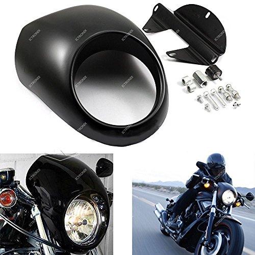 Preisvergleich Produktbild Scheinwerferblende Frontverkleidung Lampenmaske Verkleidung Abdeckung für Harley Sportster Dyna FX / XL 1200 883