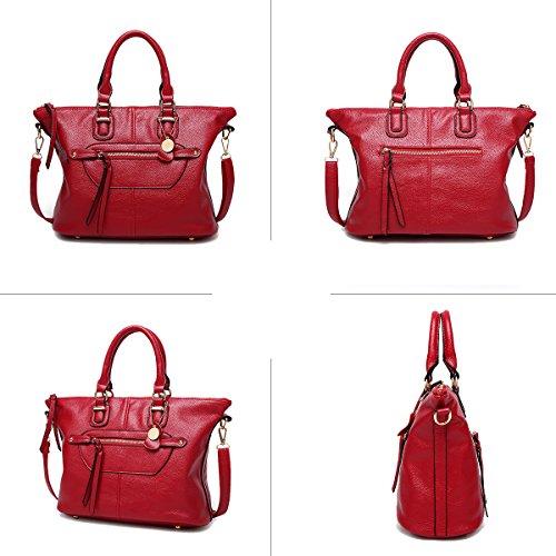 Sunas Il nuovo raccoglitore della borsa del messaggero della spalla della borsa di spalla della borsa delle signore della borsa delle signore blu