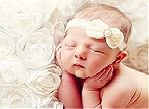 72561Neugeborene Baby Fotografie Requisiten Rose Blume Hintergrund Decke Teppich