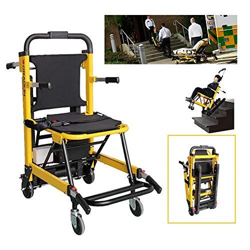 CX TECH Elektrorollstuhl Treppensteigen Rollstühle Klappbarer Crawler Chair Climbing Machine Begleitrollstuhl