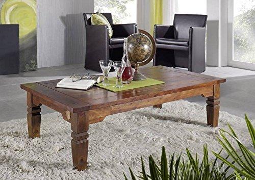 Kolonialer Couchtisch 110cm Akazie Möbel massiv OXFORD GEOFFREY #428