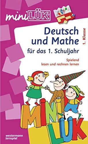 miniLÜK-Sets: miniLÜK-Set: Deutsch und Mathe für das 1.Schuljahr: Spielend Lesen und Rechnen lernen