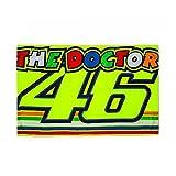 Valentino Rossi VR46 Moto GP The Doctor Streifen Flagge Offiziell 2018