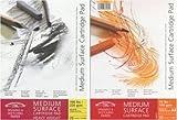 Bloc de Dibujo de Winsor & Newton 6689732, Grano Medio, Color Blanco, encolado, 220g/m², 25Hojas, DIN A2, Papel, Weiß, DIN A5 - mittlere Körnung 220g/m²
