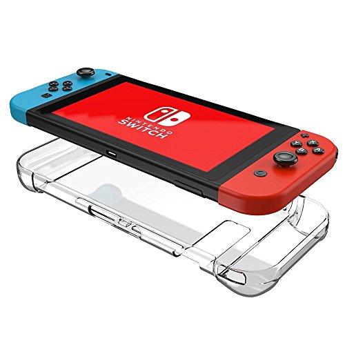 Odyssey Docking-station (Nintendo Switch Hülle - Supremery Case Kristall-klare Harte Schutzabdeckung für Nintendo Switch (gute Passform/ Ultra-dünn / Kratzfest))