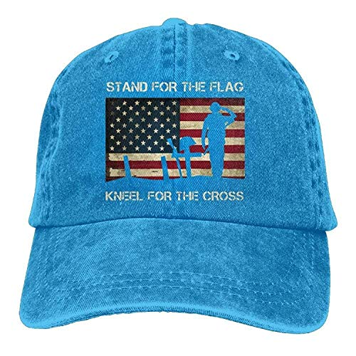 WYICPLO Fashion Baseball Caps Hats Funny Bag Unisex Patriotic American Flag Veterans Day Vintage Jeans Baseball Cap Classic Cotton Dad Hat Adjustable Plain Cap