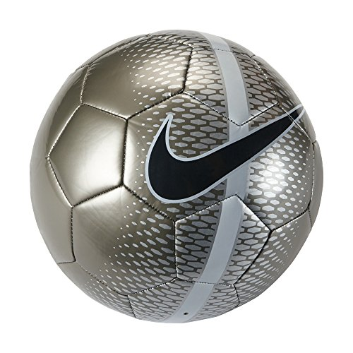 Nike Technique - Balón unisex, color naranja / blanco / negro, talla 5