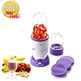 BMS Nutri 400Watt High-Speed Juicer Smoothies Maker,Blender ,Mixer , Purple & White (1 Year Warranty ) Amazon Rs. 1899.00