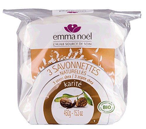 emma-noel-savonnette-karite-cosmebio-150-g