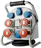 FI Stromverteiler CEE 32A 16A 400V 230V Schuko Stromstation CE