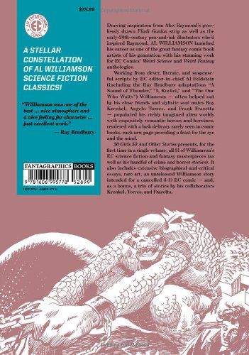 Ec Williamson 50 Girls 50&Other Stories HC (The Ec Comics Library)