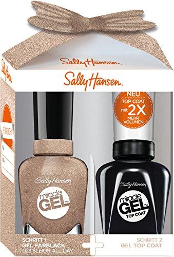 Sally Hansen Duo Paquete de regalo Miracle Gel Esmalte de Uñas, FB. 23,...