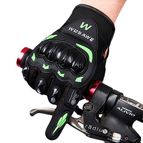 Zyurong Fahrrad-Handschuhe, leicht, Silikon-Gel-Pad, Unisex