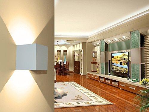 Hoiho led applique da parete per esterni impermeabile ip65 stile