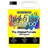 Pro-Kleen xp111 wassen en Carnauba Wax Shampoo 5L (geel-Citroen geur)