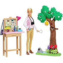 Barbie GDM49 Entomologist Doll and Playset, Multicolour