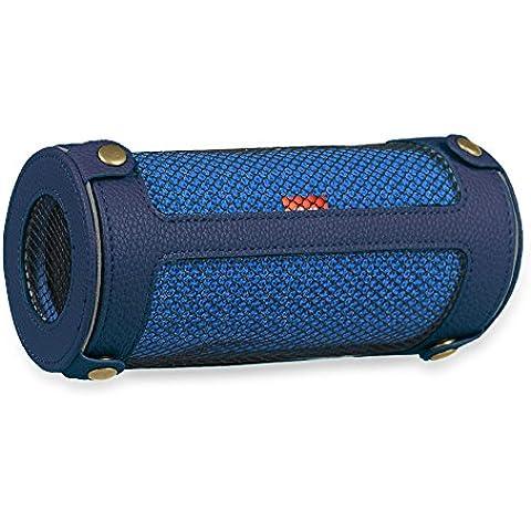 JBL Flip3 Funda - Fintie Cover Con La Correa Desmontable para JBL Flip 3 Altavoz Inalámbrico Bluetooth, Azul