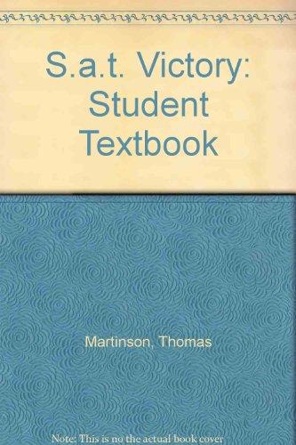 S.a.t. Victory: Student Textbook par Thomas Martinson